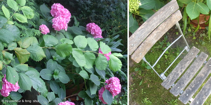 DIY Gartenstuhl aufpeppen